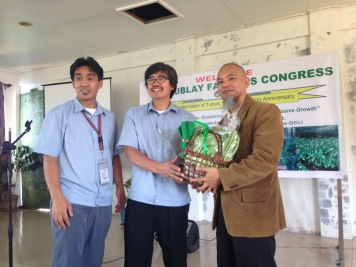 The MAO, Mayor, and Dr. Sudaypan the event guest speaker.