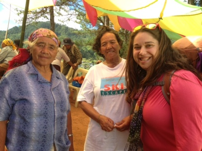 L-R: Siegrid's Lola and an Auntie From Sagada