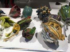 Amazing seed pottery