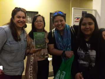 Global Seed Savers Team with Padma and Jenny at the book launch.