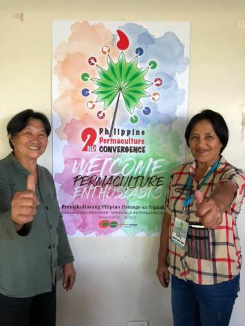 BASS Farmers Maam Ester and Maam Letty at the PPA Convergence