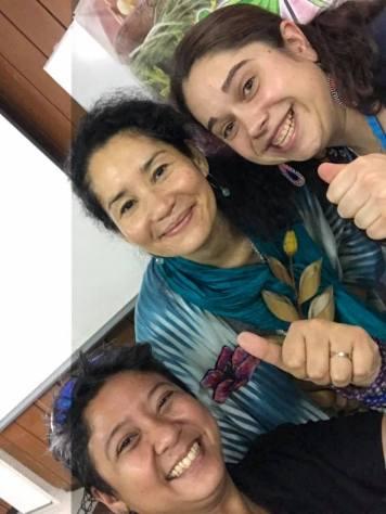 GSS with our Seed Sister Karla Delgado of Kai Farms